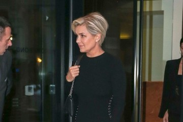 Yolanda Foster Bella Hadid and Yolanda Foster Leave Their Hotel in NYC