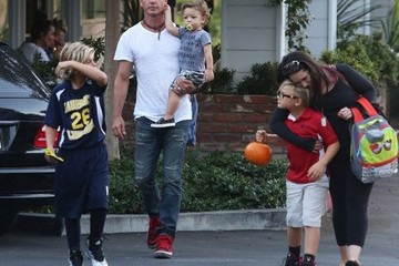 Zuma Rossdale Gavin Rossdale Takes His Boys out to Dinner