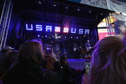 Singer Darius Rucker performs during the 100 Days Out 2018 PyeongChang Winter Olympics Celebration - Team USA in Times Square on November 1, 2017 in New York City.