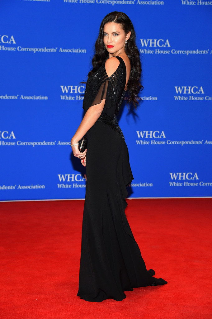 Adriana Lima's Stunning Red Carpet Style