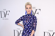 Katy Perry attends 10th Annual DVF Awards at Brooklyn Museum on April 11, 2019 in New York City.