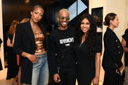 Keenyah Hill, Eric West and Tashiana Washington attend 111SKIN Celebrates Bergdorf Goodman Launch With Cocktails Featuring The Beauty Gypsy at Bergdorf Goodman on June 19, 2019 in New York City.