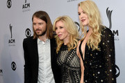 (L-R) Cal Campbell, Kim Campbell and Ashley Campbell attend the 11th Annual ACM Honors at the Ryman Auditorium on August 23, 2017 in Nashville, Tennessee.