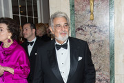 Tenor Placido Domingo attends the 11th Annual Opera News Awards at The Plaza Hotel on April 10, 2016 in New York City.