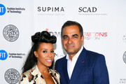 Designer Bibhu Mohapatra and June Ambrose attend the 11th Annual Supima Design Competition during New York Fashion Week on September 6, 2018 in New York City.