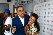 Bibhu Mohapatra and June Ambrose attend the 11th Annual Supima Design Competition during New York Fashion Week on September 6, 2018 in New York City.