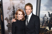 "Linda Bruckheimer and Jerry Bruckheimer attend the world premiere of ""12 Strong"" at Jazz at Lincoln Center on January 16, 2018 in New York City."