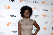 "Actress Adepero Oduye  arrives at the ""12 Years A Slave"" Premiere during the 2013 Toronto International Film Festival Princess of Wales Theatre on September 6, 2013 in Toronto, Canada."