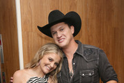 Lauren Alaina and Jon Pardi take photos during the 12th Annual ACM Honors at Ryman Auditorium on August 22, 2018 in Nashville, Tennessee.