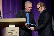 Ken Paulson presents Stephen Stills with the Spirit of Americana Award at the 12th Annual Americana Music Honors And Awards Ceremony Presented By Nissan on September 18, 2013 in Nashville, United States.