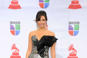Actress Giselle Blondet arrives at the 12th annual Latin GRAMMY Awards at the Mandalay Bay Resort & Casino on November 10, 2011 in Las Vegas, Nevada.