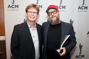 Mike Johnson and F. Reid Shippen backstage at the 13th Annual ACM Honors at Ryman Auditorium on August 21, 2019 in Nashville, Tennessee.