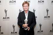 Mike Johnson backstage at the 13th Annual ACM Honors at Ryman Auditorium on August 21, 2019 in Nashville, Tennessee.