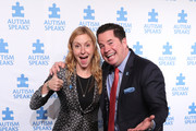Christina Tosi, event Co-chair, Chef, Founder and Owner, Milk Bar; and Matt Higgins, event Co-chair and Co-founder and CEO, RSE Ventures, recurring shark, Shark Tank attend the 13th Annual Autism Speaks Celebrity Chef Gala at Cipriani Wall Street on October 15, 2019 in New York City.
