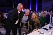 Host Andrew Zimmern, Chef Franklin Becker and Christina Tosi, event Co-chair, Chef, Founder and Owner, Milk Bar attend the 13th Annual Autism Speaks Celebrity Chef Gala at Cipriani Wall Street on October 15, 2019 in New York City.