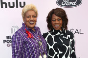 C. C. H. Pounder (L) and Alfre Woodard attend the 13th Annual Essence Black Women In Hollywood Awards Luncheon at the Beverly Wilshire Four Seasons Hotel on February 06, 2020 in Beverly Hills, California.