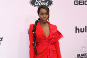 Aja Naomi King  attends the 13th Annual Essence Black Women In Hollywood Awards Luncheon at the Beverly Wilshire Four Seasons Hotel on February 06, 2020 in Beverly Hills, California.