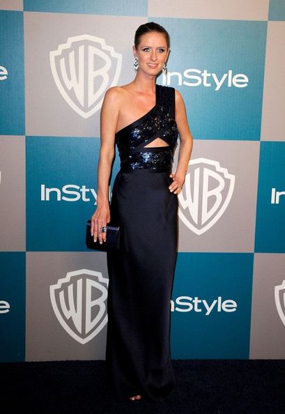 Nicky Hilton arrives at 13th Annual Warner Bros. and InStyle Golden Globe Awards After Party at The Beverly Hilton hotel on January 15, 2012 in Beverly Hills, California.