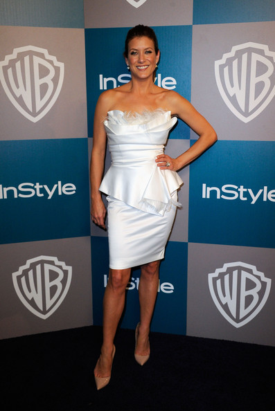 Actress Kate Walsh arrives at 13th Annual Warner Bros. And InStyle Golden Globe Awards After Party at The Beverly Hilton hotel on January 15, 2012 in Beverly Hills, California.