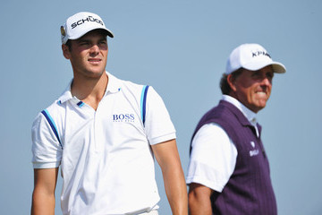 Phil Mickelson Martin Kaymer 140th Open Championship - Day Two