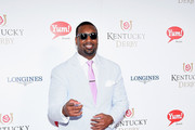 Chris Canty attends the 141st Kentucky Derby at Churchill Downs on May 2, 2015 in Louisville, Kentucky.