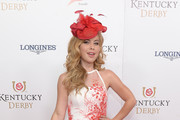Figure skater Tara Lipinski attends the 142nd Kentucky Derby at Churchill Downs on May 07, 2016 in Louisville, Kentucky.