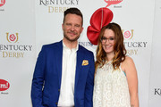Actor Will Chase (L) and singer Ingrid Michaelson attend the 142nd Kentucky Derby at Churchill Downs on May 07, 2016 in Louisville, Kentucky.