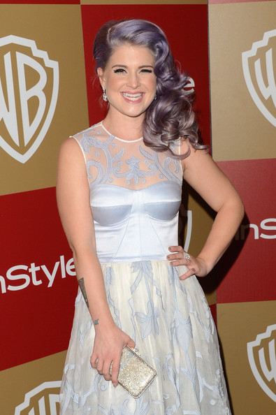 TV personality Kelly Osbourne attends the 14th Annual Warner Bros. And InStyle Golden Globe Awards After Party held at the Oasis Courtyard at the Beverly Hilton Hotel on January 13, 2013 in Beverly Hills, California.