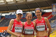 Deena Kastor and Jeannette Fabe Photos Photo
