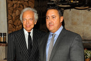 (L-R) Ralph Lauren and Alfredo Paredes attend DIFFA's 15th annual Dining by Design Dinner gala at Pier 94 on March 26, 2012 in New York City.