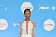 Flaviana Matata at the 15th Annual UNICEF Snowflake Ball 2019 at 60 Wall Street Atrium on December 03, 2019 in New York City.