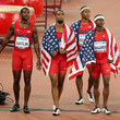 Justin Gatlin and Mike Rodgers Photos