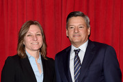Original Content VP on Development Plan at Netflix Cindy Holland and Chief Content Officer at Netflix Ted Sarandos attends the 16th Annual AFI Awards at Four Seasons Hotel Los Angeles at Beverly Hills on January 8, 2016 in Beverly Hills, California.