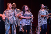 Recording Artists Ann, Regina and Alfreda McCrary of The McCrary Sisters perform during the 16th Annual Americana Music Festival and Conference at The City Winery on September 19, 2015 in Nashville, Tennessee.