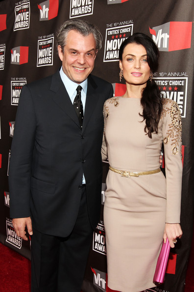 Actor Danny Huston and Lynn Renee  arrive at the 16th annual Critics' Choice Movie Awards at the Hollywood Palladium on January 14, 2011 in Los Angeles, California.