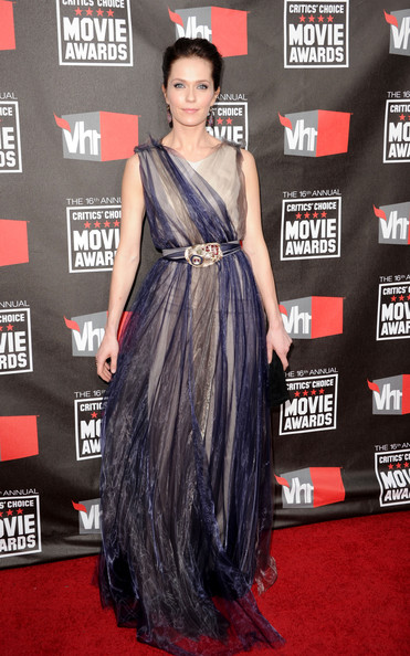 Actress Katie Aselton arrives at the 16th annual Critics' Choice Movie Awards at the Hollywood Palladium on January 14, 2011 in Los Angeles, California.