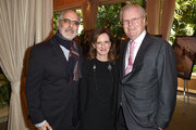 (L-R) AFI Board of Trustees Vice Chair Jon Avnet, AFI Trustee Anne Sweeney, and AFI Board of Trustees Chair Sir Howard Stringer attend the 17th annual AFI Awards at Four Seasons Los Angeles at Beverly Hills on January 6, 2017 in Los Angeles, California.