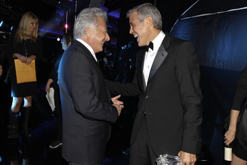 Brad Pitt George Clooney 17th Annual Critics' Choice Movie Awards - Backstage And Audience