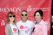 Actress Emma Stone, television personality Andy Cohen and actress Karen Duffy attend the 17th Annual EIF Revlon Run Walk For Women on May 3, 2014 in New York City.