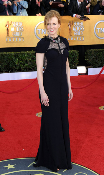 Actress Nicole Kidman arrives at the 17th Annual Screen Actors Guild Awards held at The Shrine Auditorium on January 30, 2011 in Los Angeles, California.