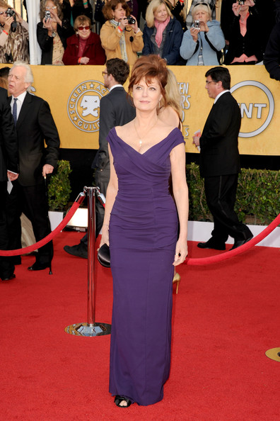 Actress Susan Sarandon arrives at the 17th Annual Screen Actors Guild Awards held at The Shrine Auditorium on January 30, 2011 in Los Angeles, California.