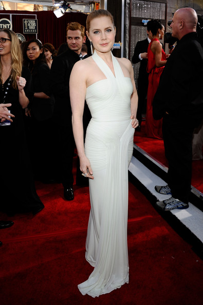 Actress Amy Adams arrives at the 17th Annual Screen Actors Guild Awards held at The Shrine Auditorium on January 30, 2011 in Los Angeles, California.