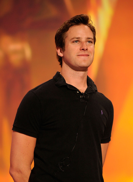 Actor Armie Hammer speaks onstage during the 17th Annual Screen Actors Guild Awards rehearsals held at The Shrine Auditorium on January 29, 2011 in Los Angeles, California.