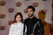 Christine and The Queens and Kendji Girac attend the 17th NRJ Music Awards at Palais des Festivals on November 7, 2015 in Cannes, France.