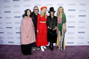 (L-R) Stacey Sher, Kerry Brown, Natasha Bedingfield, Linda Perry and Rebecca Gayheart Dane attend attends the 18th annual Chrysalis Butterfly Ball on June 01, 2019 in Brentwood, California.