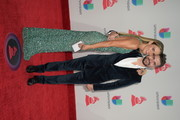 Karen Martinez and Juanes attend the 18th Annual Latin Grammy Awards at MGM Grand Garden Arena on November 16, 2017 in Las Vegas, Nevada.