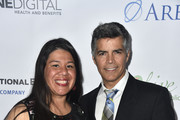 Monica Ramirez and Esai Morales attend the 18th Annual Voices Of Our Children Fundraiser Gala And Awards - Arrivals at Lowes Hollywood Hotel on September 29, 2018 in Hollywood, California.