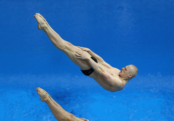 Illya Zakharov 18th FINA Visa Diving World Cup - LOCOG Test Event for London 2012: Day One
