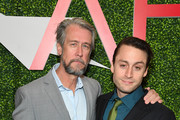 Actors Alan Ruck (L) and Kieran Culkin attend the 19th Annual AFI Awards at Four Seasons Hotel Los Angeles at Beverly Hills on January 4, 2019 in Los Angeles, California.