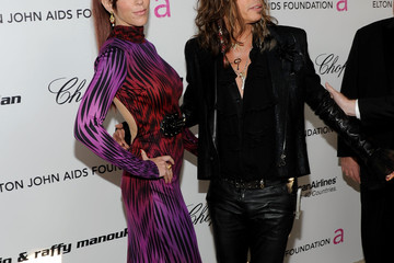 Steven Tyler Erin Brady 19th Annual Elton John AIDS Foundation Academy Awards Viewing Party - Red Carpet